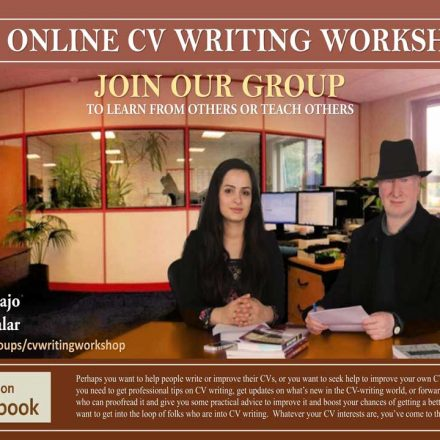 Online CV Writing Workshop
